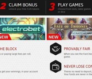 Casino Fair pros of signing up screenshot