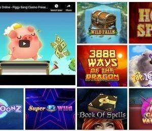 Piggy Bang games screenshot