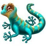 Pinata Bucks Lizard Symbol
