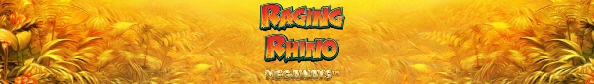 Raging Rhino Megaways 1365 x 195