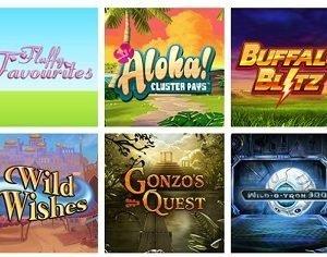 Vegas Luck slot games screenshot