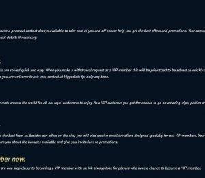 Viggoslots VIP benefits screenshot-min