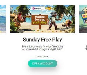 Cashiopeia Casino promotions screenshot