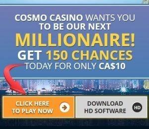 Cosmo Casino screenshot