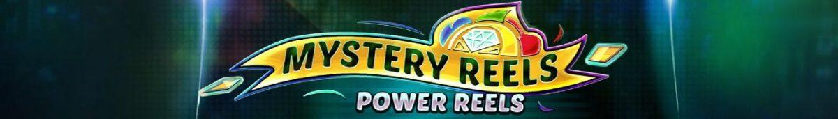 Mystery Reels Power Reels 1365 x 195