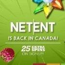 NetEnt back in Canada Slots Million Promo