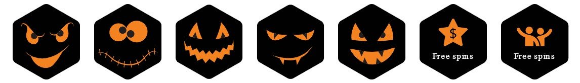 Chanz Casino Halloween badges