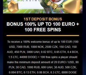 Fastpay Casino promotions