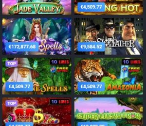 Joo Casino Jackpot Screenshot
