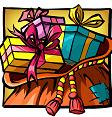 Santa Vs Rudolf Santa Gifts