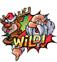 Santa Vs Rudolf Walking Wild