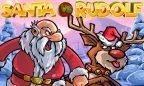 Santa vs Rudolf 908 x 624