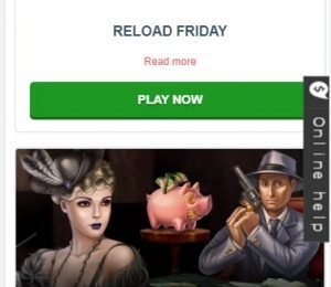 Syndicate Casino Promotions Screenshot