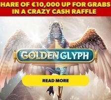 Golden Glyph raffle