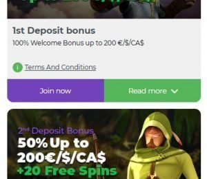 Lilibet Casino Promotions page