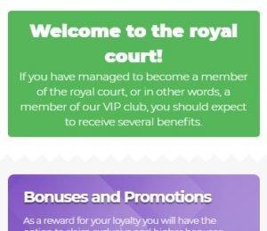 Lilibet Casino VIP club