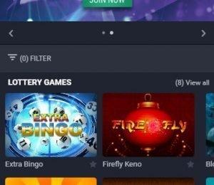 Native Gaming homepage screenshot