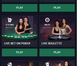 Native Gaming live casino screenshot