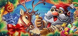 PlayAmo slot winter marathon banner