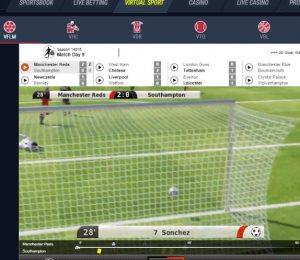 Rabona Casino virtual sport