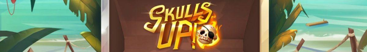 Skulls Up 1365 x 195