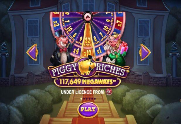 Piggy Riches Megaways 908 x 624