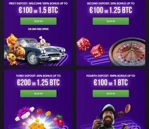 7Bit Casino Welcome Pack