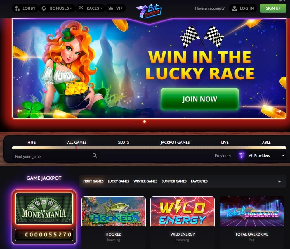 7bit Casino Welcome Bonus Up To C 500 Or 200 Free Spins