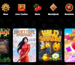 Amun Ra Casino top games
