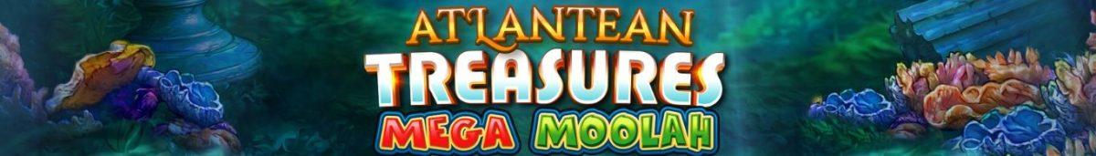Atlantean Treasures Mega Moolah 1365 x 195