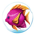 Atlantean Treasures Pink Fish