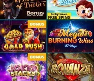 Spinaru Casino games