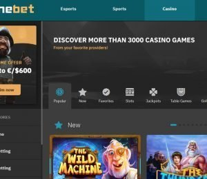 Arcanebet slot games screenshot