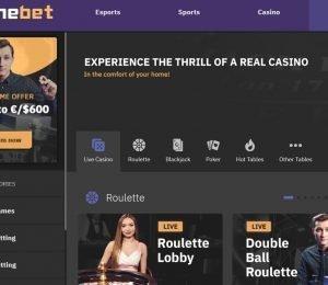 Arcanebet slot live casino