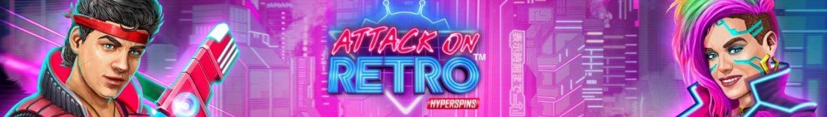Attack on Retro 1365 x 195