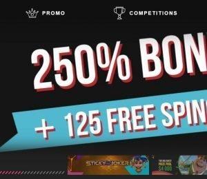Booi Casino welcome bonus
