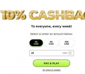 Mr Gold Cashback