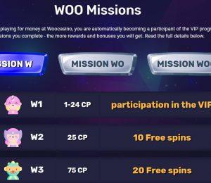 Woo Casino VIP ranks