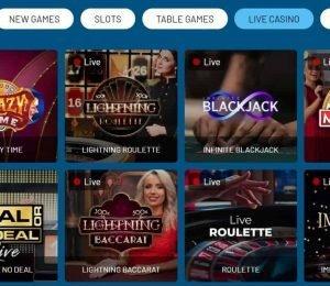 refuel casino live games