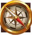 Black River Gold Wild Compass