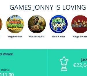 Jonny Jackpot Games