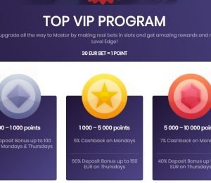 Betsedge vip program