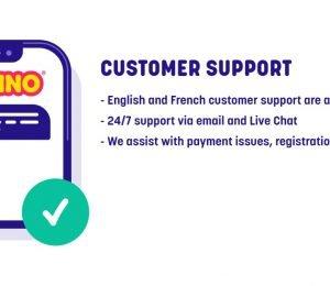 Caxino Casino customer support