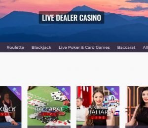 Casino Days live dealer casino games-min