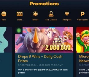 frank casino promotions