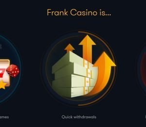 frank casino selling points