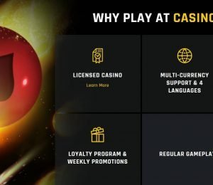 casino universe selling points-min