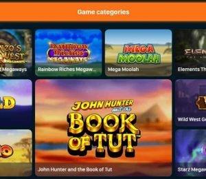 rush casino game categories-min