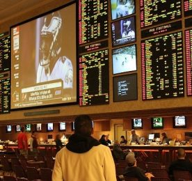 Las Vegas sportsbook by Baishampayan Ghose