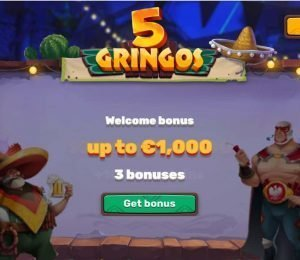 5gringos casino welcome bonus-min